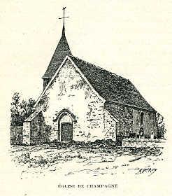 Eglise de Champagne