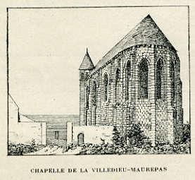 Chapelle de Villedieu-Maurepas
