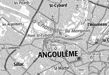 Domaine du Temple de Angoulême