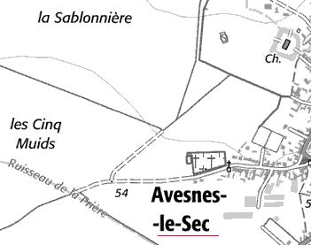 Domaine du Temple de Avesnes-le-Sec