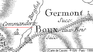 Domaine du Temple de Boux-aux-Boix