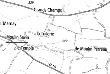 Domaine du Temple de Moulin-Savin