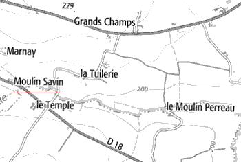 Domaine du Temple de Moulin-Savin