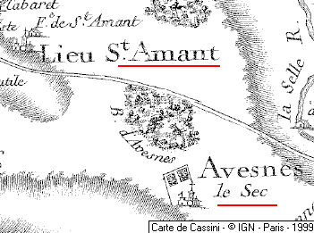 Domaine du Temple de Croix-de-Saint-Amand