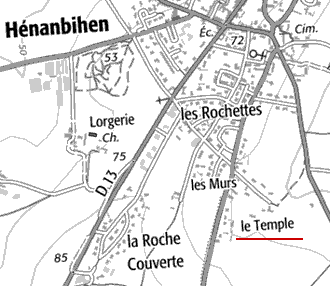 Domaine du Temple de Hénanbihen