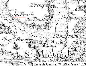 Domaine du Temple La Prêle