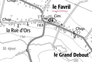 Biens du Temple près Favril