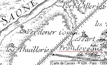 Domaine du Temple de Prondevaux