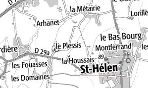 Domaine du Temple de Saint-Hélen