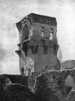 Iconium-Konya-Ruines-du-palace-Seljuk