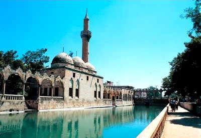 Ulfa en Turquie, aniennement Edesse Mosquée Rizvaniye