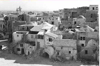 Ville de Jaffa ou Joppé