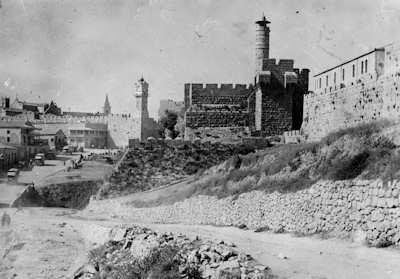 Porte de Jaffa à Jerusalem, Image de Winckelsen