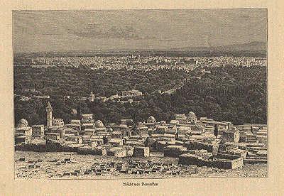 Damaskus Ansicht 1875