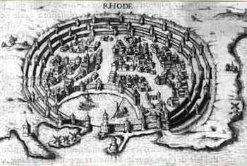 Rodhes par Beauvau en 1615