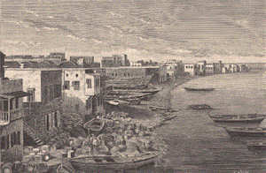 Reproduction de Tripoli par Hafen