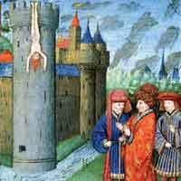 Mort de Renaud de Chatillon