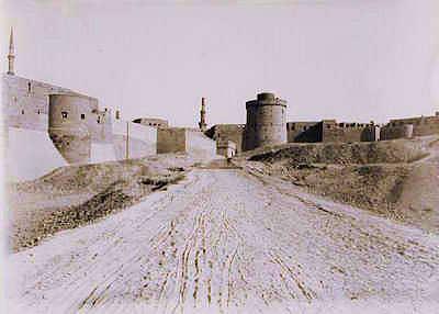 Le Caire, Citadelle vue côté