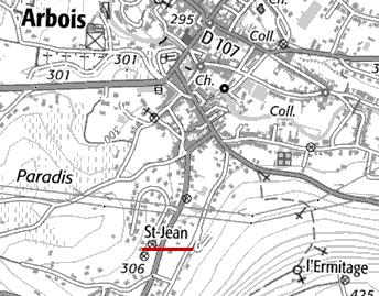 Domaine de l'Hôpital d'Arbois