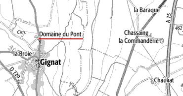Templiers, Domaine du Pont