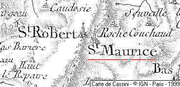 Domaine du Temple de Saint-Maurice