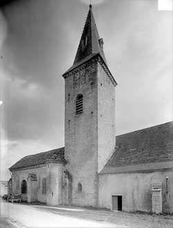 Eglise des Templiers de Bure