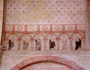 Fresques de l'église de Montsaunès