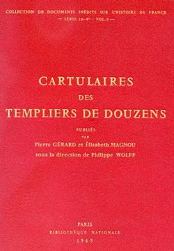 Cartulaires des Templiers de Douzens.