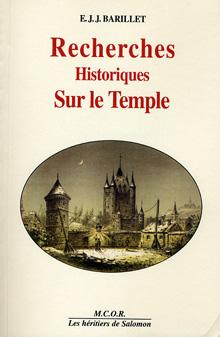 Recherches sur le Temple de Paris