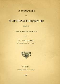Commanderie de Saint-Etienne de Renneville