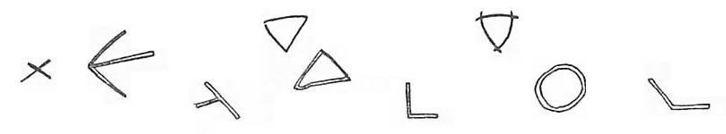 marques de tâcheron : b - c