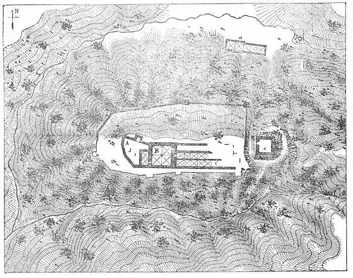 Plan château de Montfort