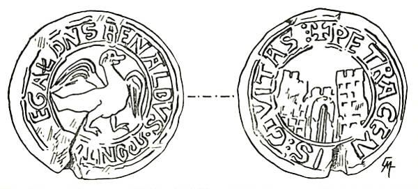 Sceau de Renaud de Châtillon