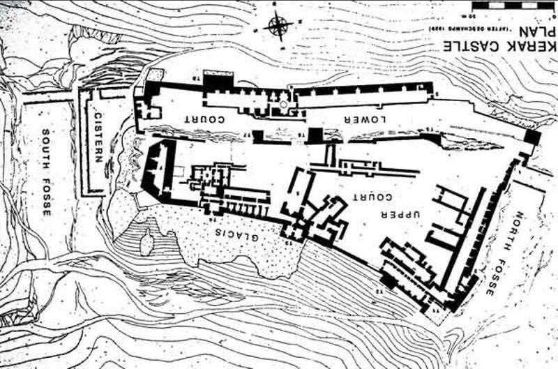 Le château de Kérak