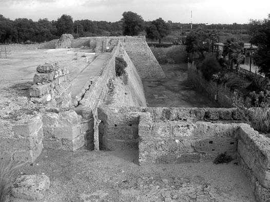 Césarée, vue d'une salle