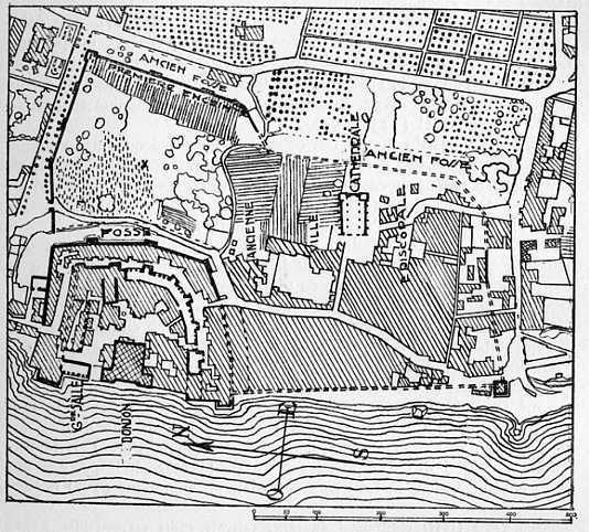 Plan de la ville de Tortose