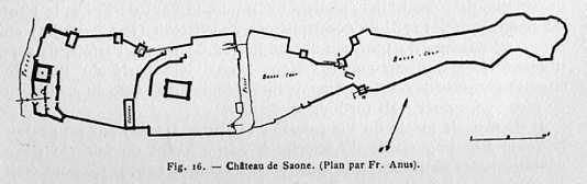 Le château de Saone