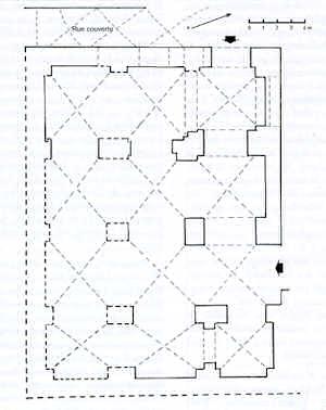 Plan d'un Palais Génois d'Acre