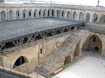 Prison d'Acre Akka Akko