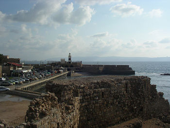 Fortifications d'Acre Akka Akko