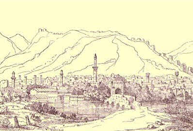 Antioche gravure Musulmane