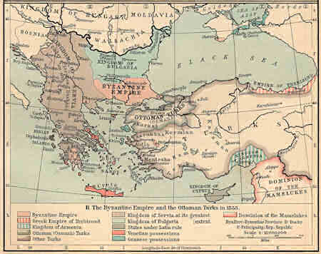 Byzantine Empire and the Ottoman Turks