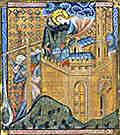 La Vierge protège Constantinople