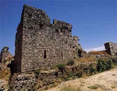 Vestiges du château de Coliath