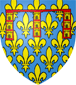 Blason de Robert de France comte d'Artois
