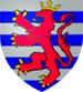 Blason de Lusignan Guy de  (1129-1194) roi de Jérusalem (1186-1192)