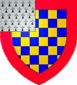 Blason de Pierre de Dreux dit Mauclerc