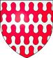 Blason de Aimery, vicomte de Rochechouart