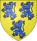 Blason de Gui IV de Comborn, vicomte de Limoges