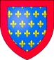 Blason de Jean, dit Tristan comte de Vallois